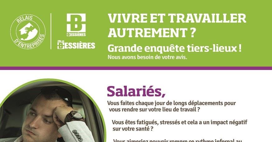 Tiers-lieu à Bessières : salariés, entrepreneurs, donnez votre avis !