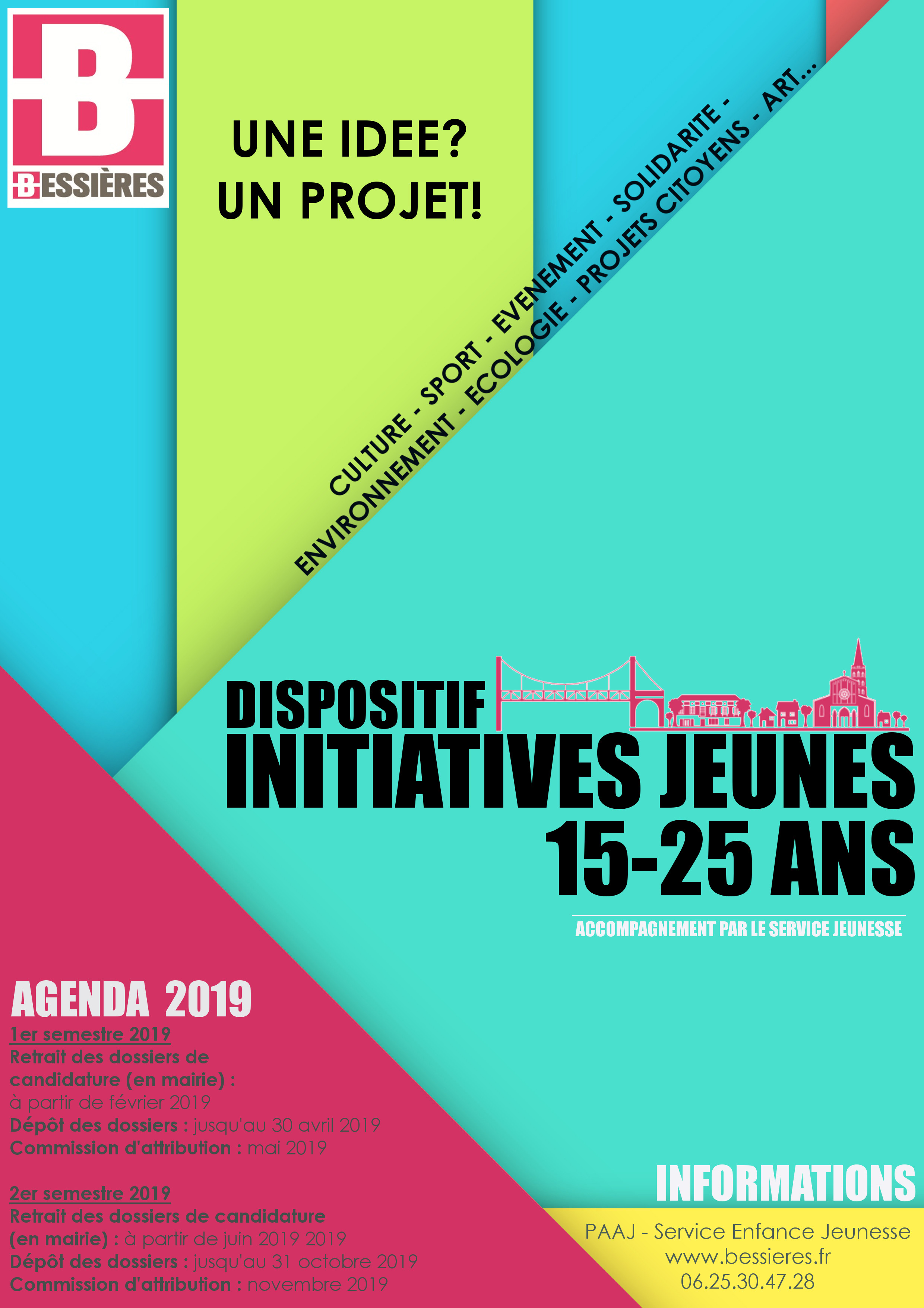 15-25 ans – dispositif Initiatives Jeunes