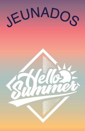 JEUNADOS – programme des animations de l'été