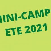 MINI-CAMPS ETE 2021